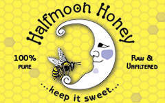 Halfmoon Honey label